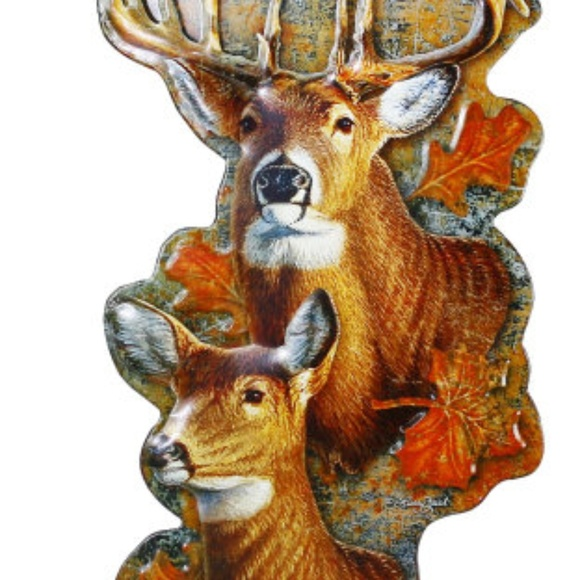 ARCOUNTRYSTORE.COM Accessories | Die Cast Metal Deer Sign Wall Decor ...